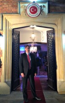 Jeff at Turkish Embassy
