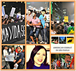 Sao Paulo June Protests Collage