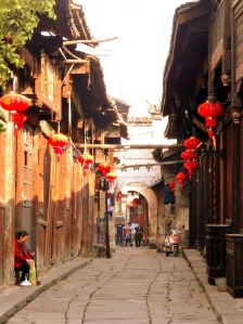 Stepping back in time in Qianyang; photo credit: Gaetan Green.
