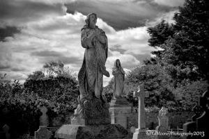 Cillbharrog Church & cemetery; photo credit: Ed Mooney.