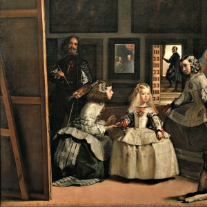 Las Meninas, by Diego Velázquez [Public domain], via Wikimedia Commons