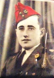Bernard as a young man