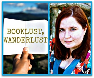 Booklust Wanderlust Collage