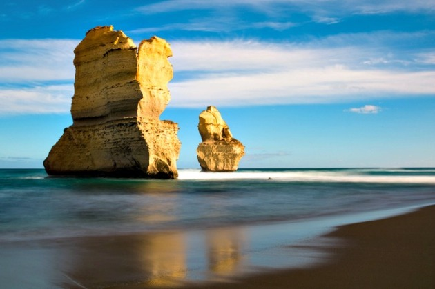 The Great Ocean Road in Australia; photo credit: Jamie Chan.
