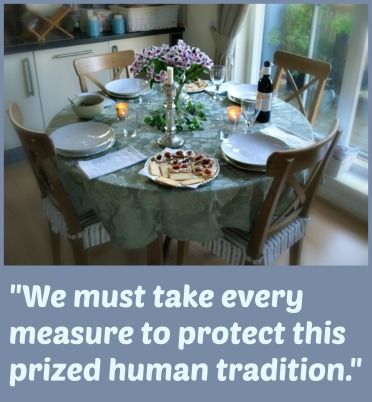 dinner party quote