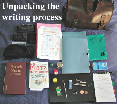 """Emptying the NaNo bag at last,"" by  Anne-Lise Heinrichs via Flickr ()."