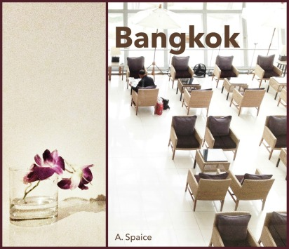 """In Bangkok"" by A. Spaice; cover art for A. Spaice's short book, Bangkok"