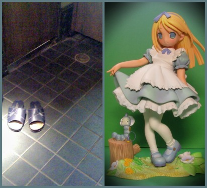 bathroom slippers anime
