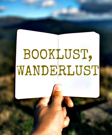Booklust Wanderlust column for the Displaced Nation