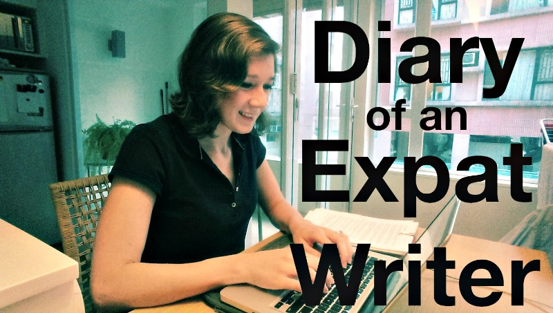 Diary of an Expat Writer | The Displaced Nation