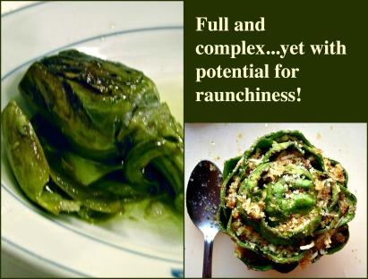 The rich yet raunchy artichoke