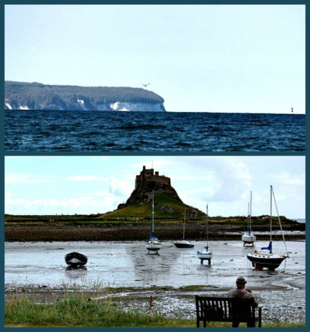 The allure of the coast: Heimat, Germany (top) and Lindisfarne, Northumbria, UK. Photo credits: Paul Scraton and K.