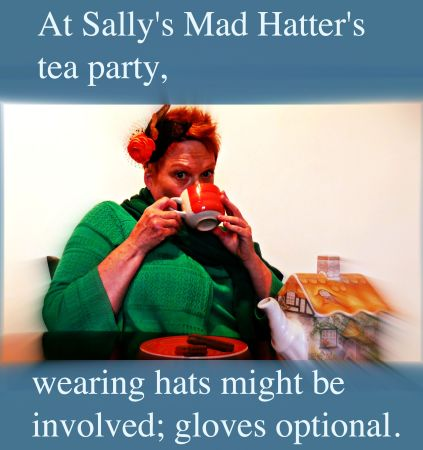 Is Sally Alice or the Mad Hatter here? (Photo supplied)