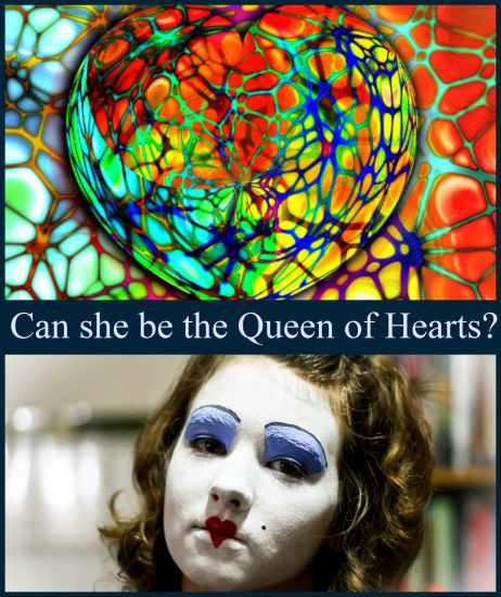 Can she be the queen of hearts