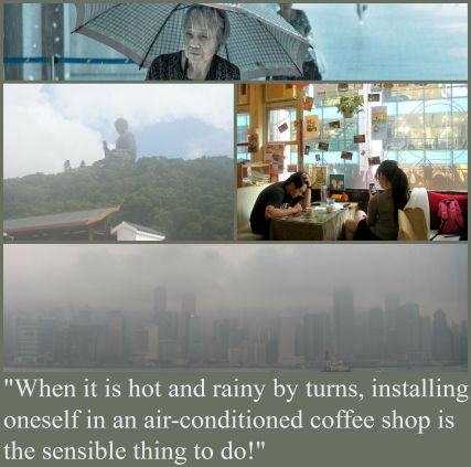Hong Kong summer collage