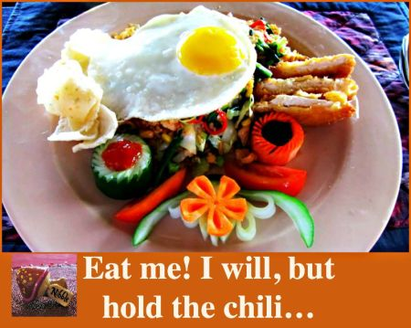 Nasi Goreng Hold the Chili