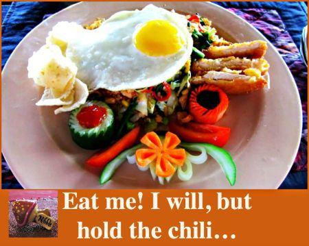 Nasi Goreng Hold the Chili