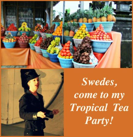 Tropical Tea Party