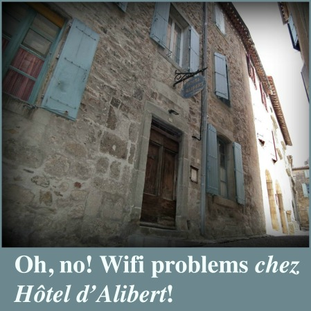 Wifi problems at Hotel dAlibert