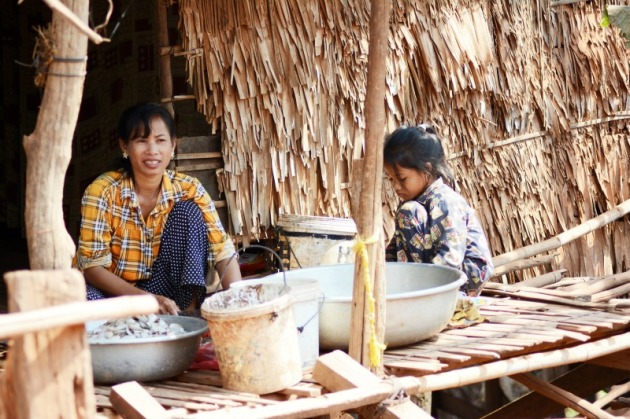 Kompong Khleang, considered the most authentic of the three floating villages around Siem Reap, Cambodia. Photo credit: Angela Corrias (supplied).