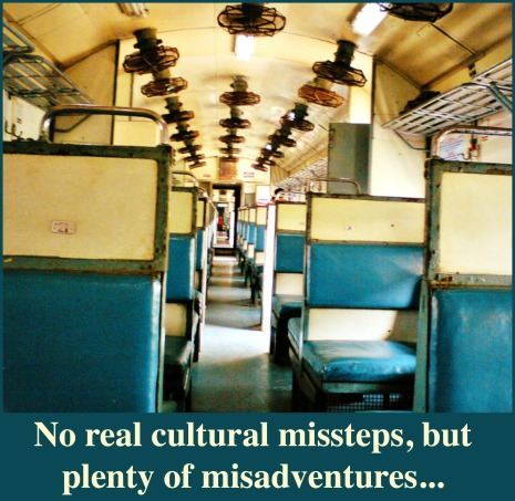 Indian train misadventures