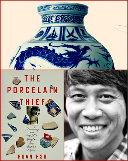 Photo credits: Top third of an antique Chinese vase (Pixabay); cover art; Huan Hsu's author portrait by Martijn van Nieuwenhuyzen.