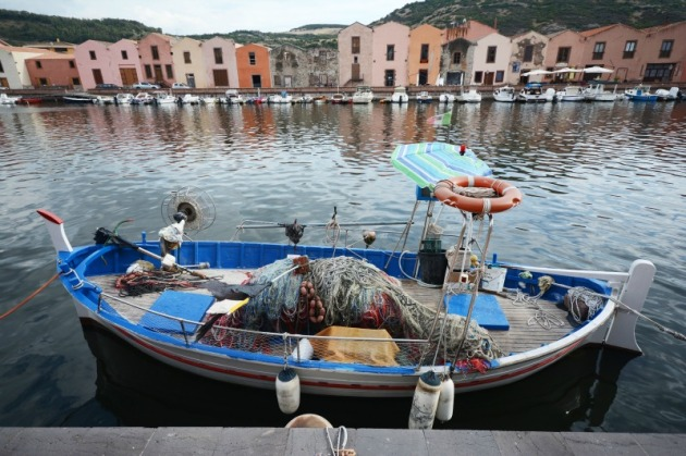 Fishing plays an important role in the economy of Basa, Sardinia. Photo credit: Angela Corrias (supplied).