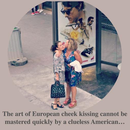 Art of European Cheek Kissing