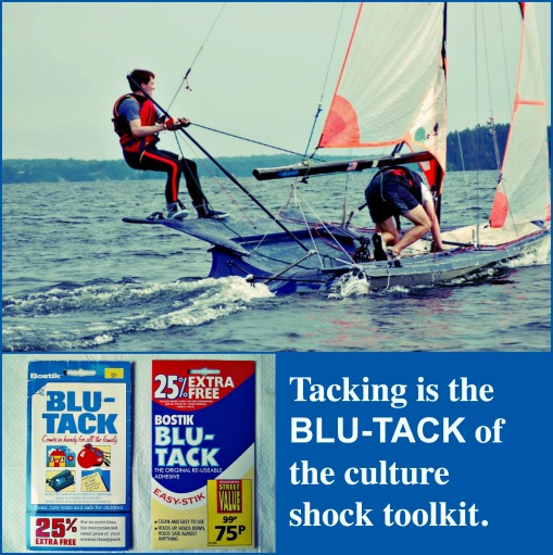 Tacking is the Blu-Tack