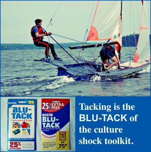 Tacking is the Blu-Tack