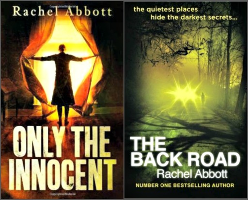 Rachel's first two psychological thrillers, both international bestsellers.