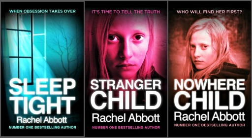 Rachel's latest three books. Stranger Child, a stand-alone novella but featuring the same characters as Stranger Child, came out in October.