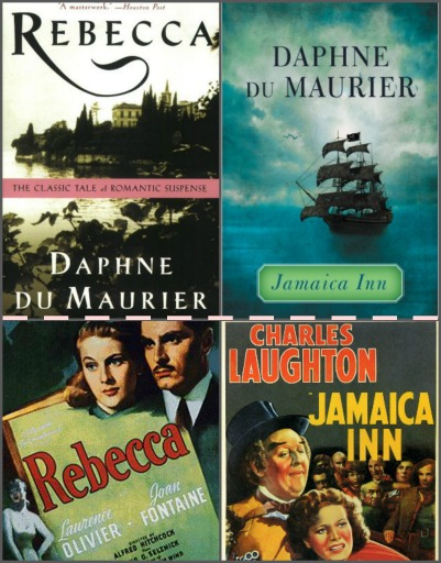 The locations of these two Daphne du Maurier classics are so vivid, you don't even need to see Hitchcock's films!