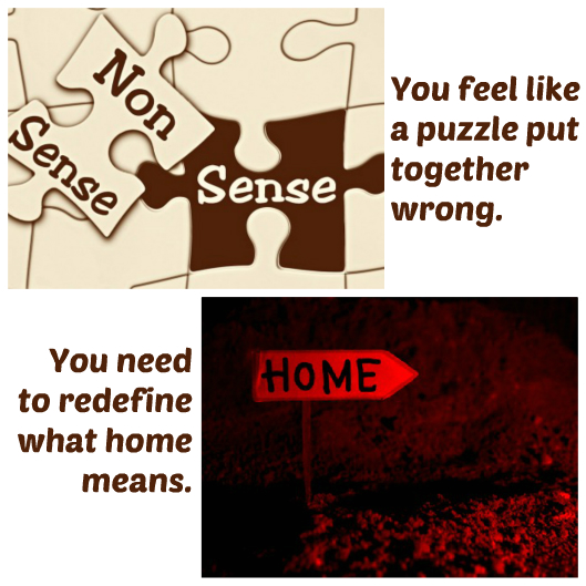 The puzzle of home