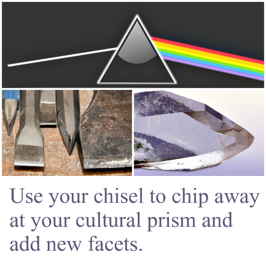 cultural prism and chisel