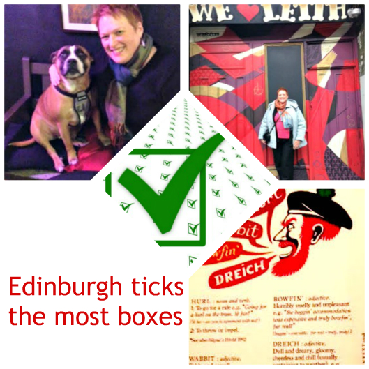 Edinburgh ticks boxes
