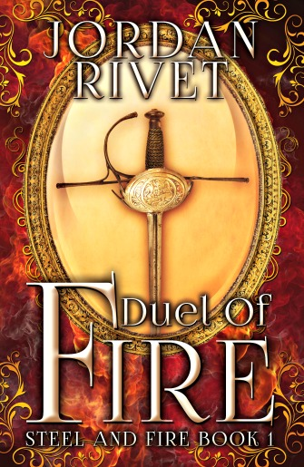 Duel Of Fire - Jordan Rivet_cover