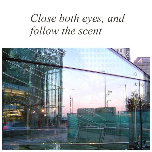 Close both eyes