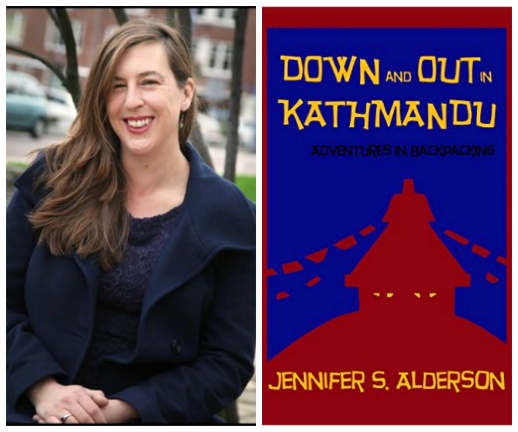 Jennifer Alderson and book cover