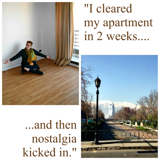 Cleared apartment nostalgia