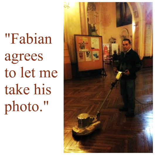Fabian floor polisher