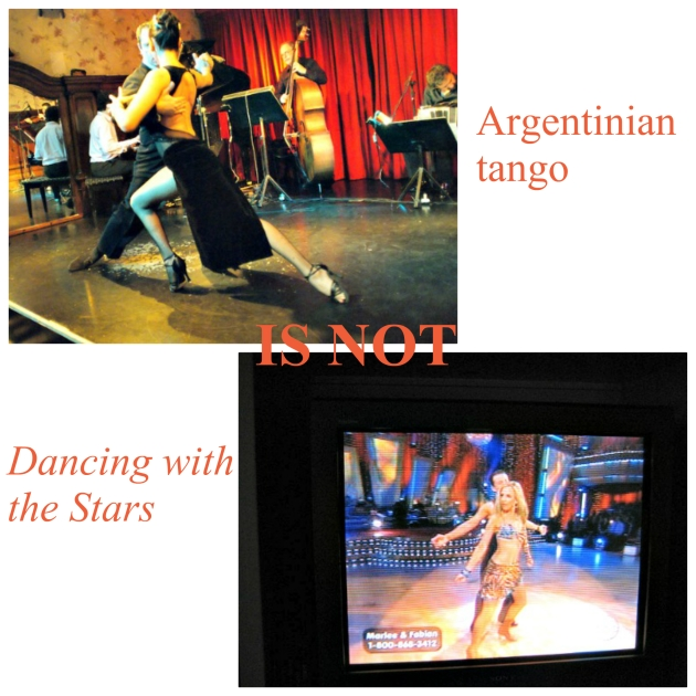 tango and dancing with the stars