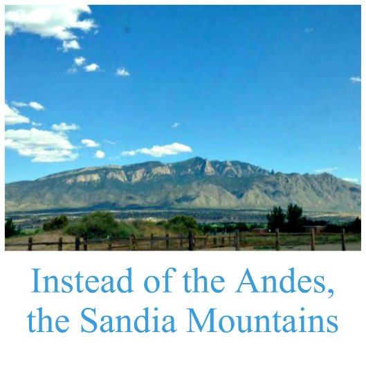 Sandia Mountains vista