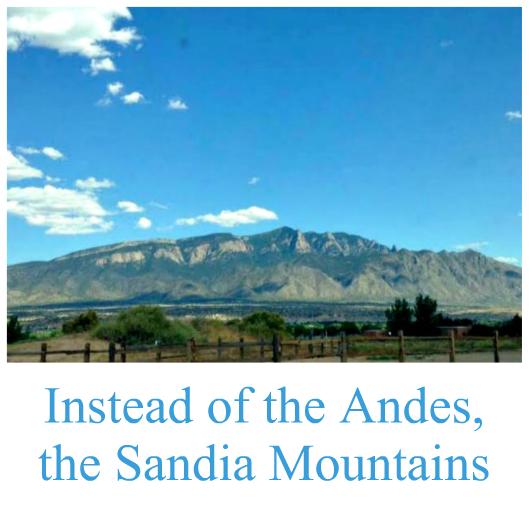 Sandia Mountains vista